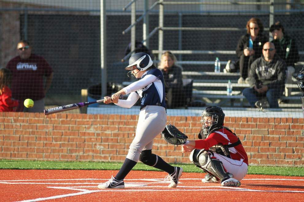 Taylor Spencer, Parkview Baptist slow St. Thomas More slugger Bailey Hemphill in 8-2 victory _lowres