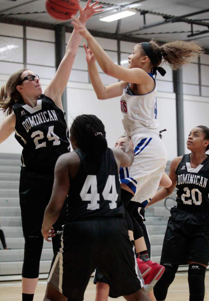 Girls basketball playoffs: Late push propels John Curtis past Dominican _lowres