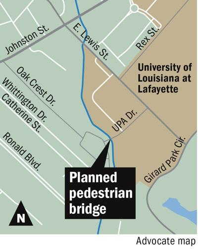 University Of Louisiana At Lafayette Campus Map.Agreement Reached With Apartment Complexover Faulty Bridge Leading