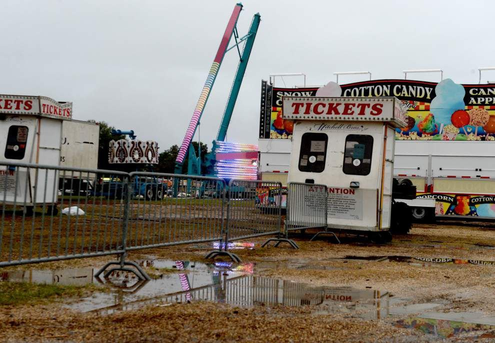 It's been 30 years since Greater Baton Rouge State Fair has seen this many rained out days, official claims _lowres