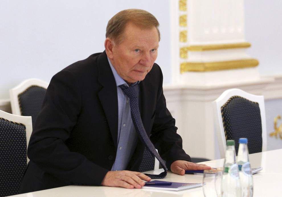 Pro-Russian rebels lower demands in peace talks _lowres