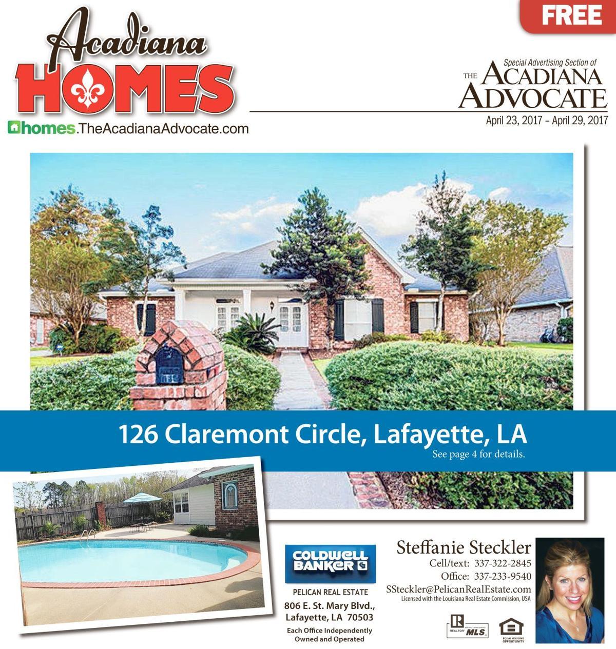 126 Claremont Circle, Lafayette, LA - Cover Acadiana Homes