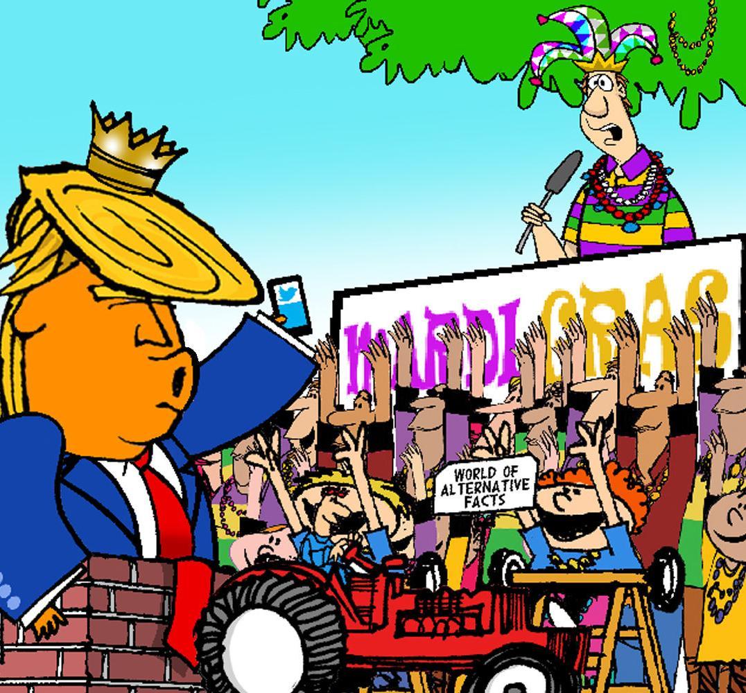 Trump Animation Float