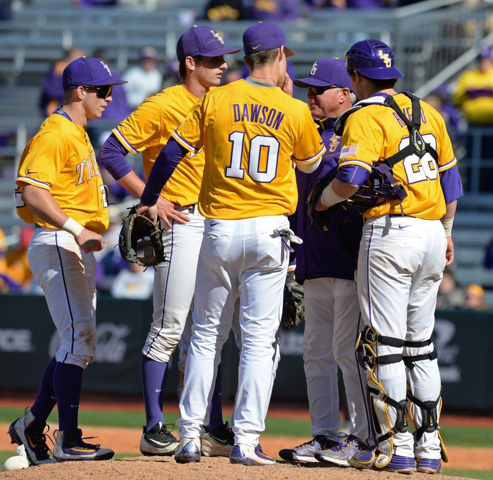 Live updates: LSU baseball goes for series win vs. Texas A&M _lowres