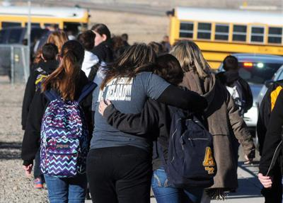 At least 2 kids hurt in New Mexico school shooting _lowres