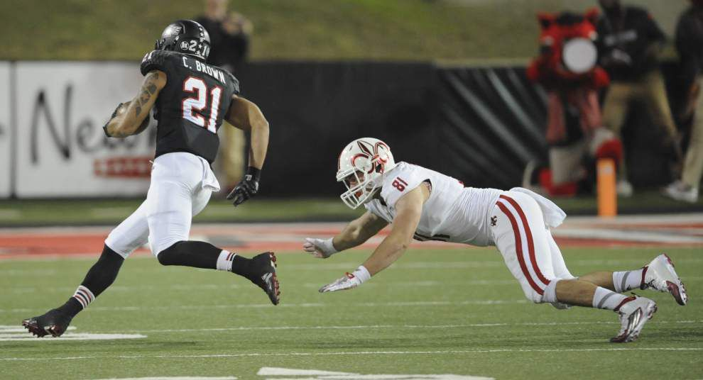Cajuns late rally falls short in 37-27 loss to Arkansas State _lowres