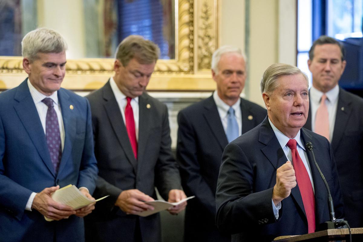 Lindsey Graham, Bill Cassidy, Ron Johnson, Dean Heller, Rick Santorum