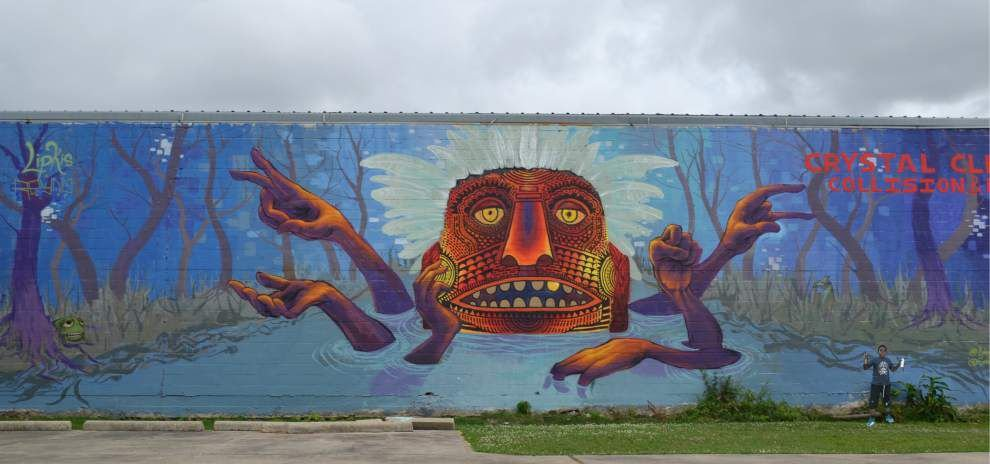 The Wall and All: Street art around New Orleans can be defiant, playful or surreal _lowres