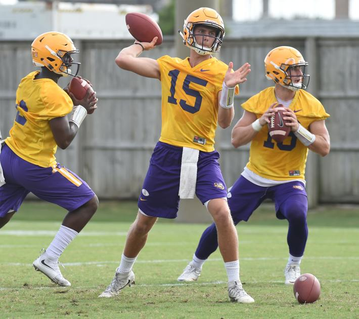 LSU's Ed Orgeron: Danny Etling, teammates excited he'll start at QB; 'I told him to call his daddy'