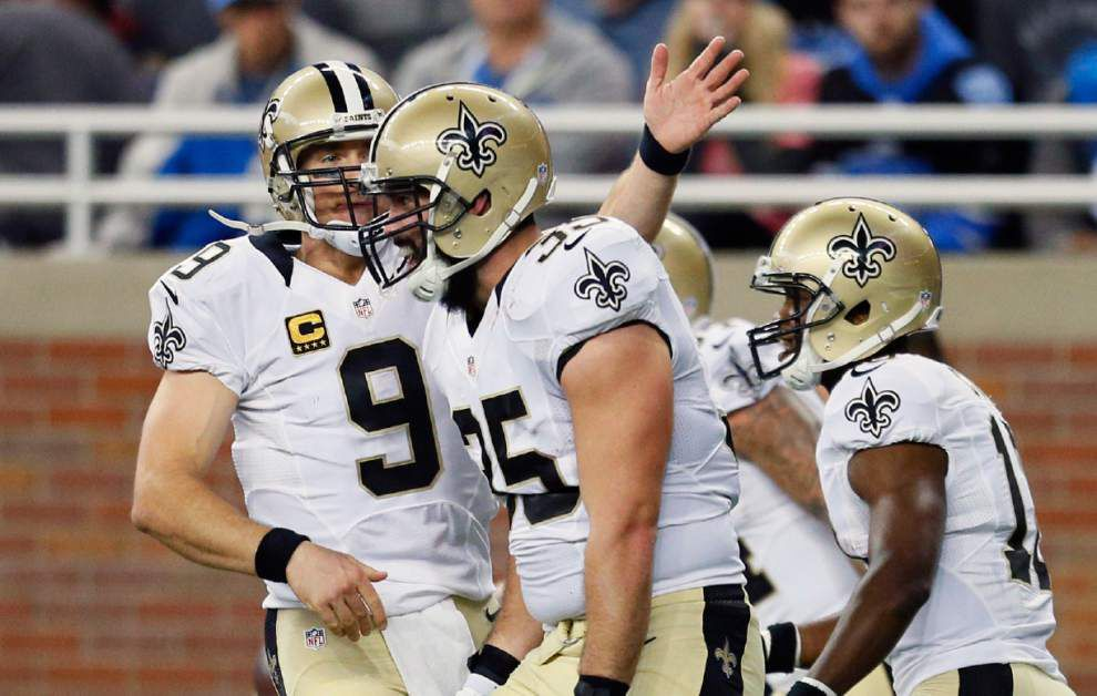 Detroit edges the New Orleans Saints 24-23 on quick Lions' scores late in fourth quarter _lowres