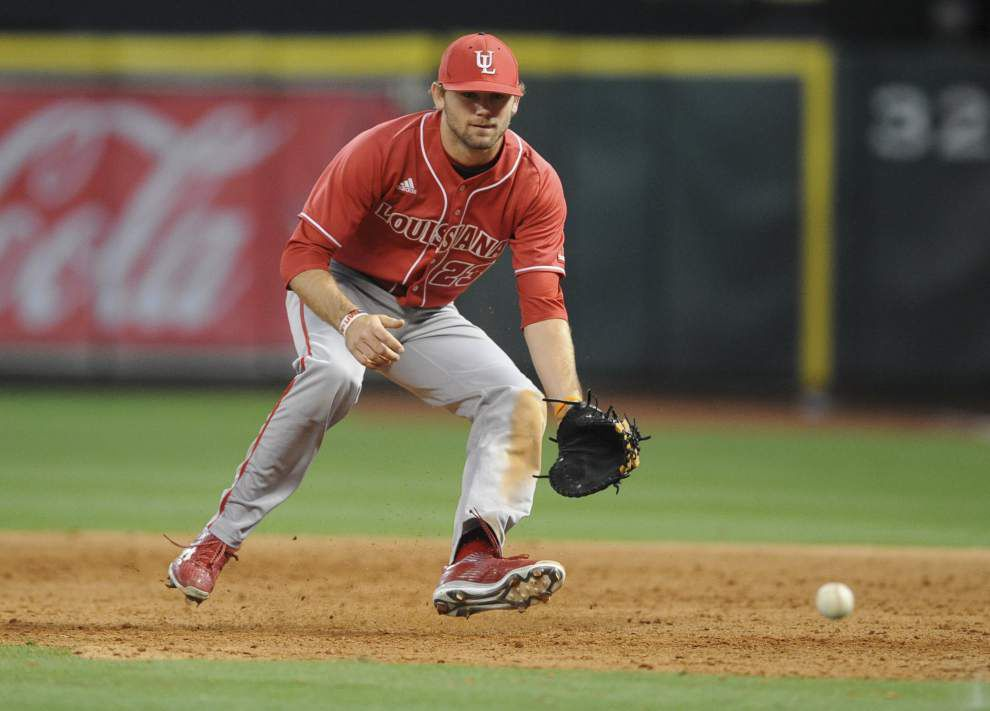 Cajuns falter in Minute Maid Park opener, fall 7-1 to TCU _lowres