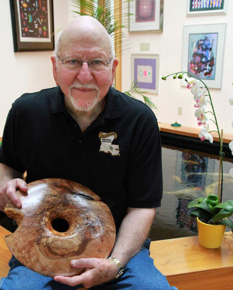 In Profile: Retired doctor Andy Leonard enjoys woodturning, beekeeping and molecular cooking _lowres