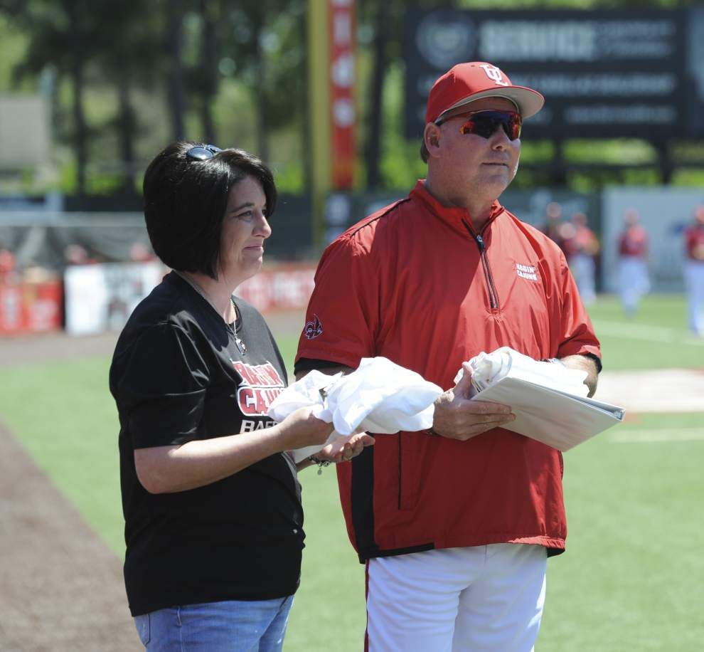 Father's Day 2015: UL-Lafayette's Tony Robichaux strives to teach his team to be better men, not just better ballplayers _lowres