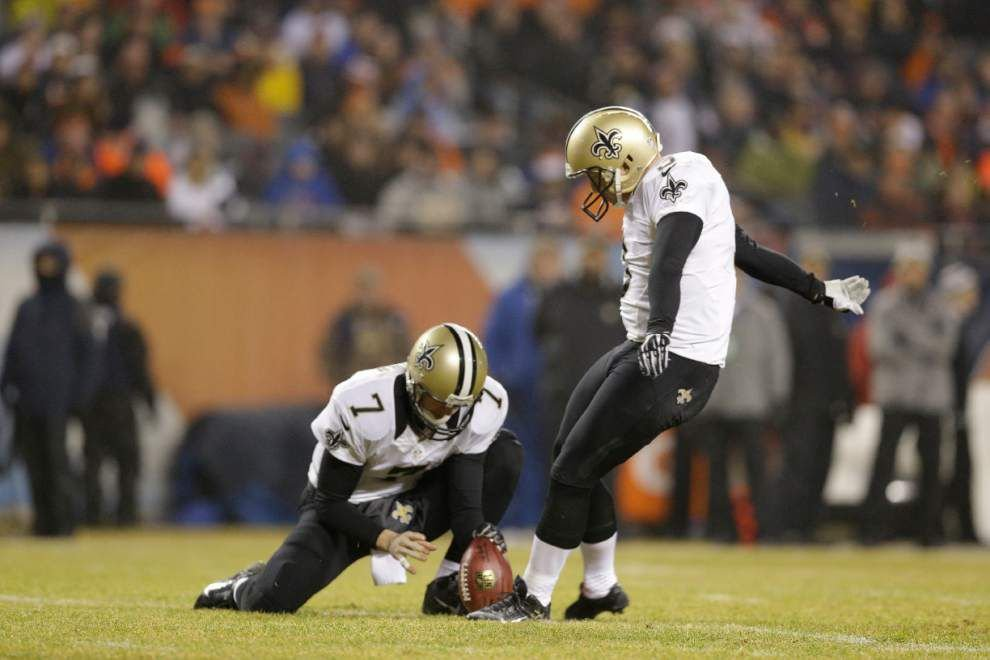 Report: Saints sign placekicker Shayne Graham to a 1-year deal _lowres