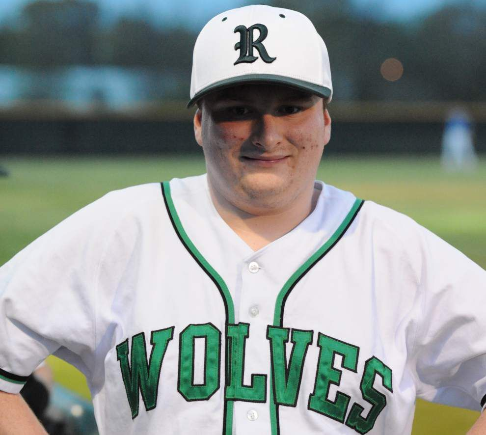 Andrew Compton, an outfielder with autism, has a special evening playing in his first varsity baseball game at Redemptorist High School _lowres