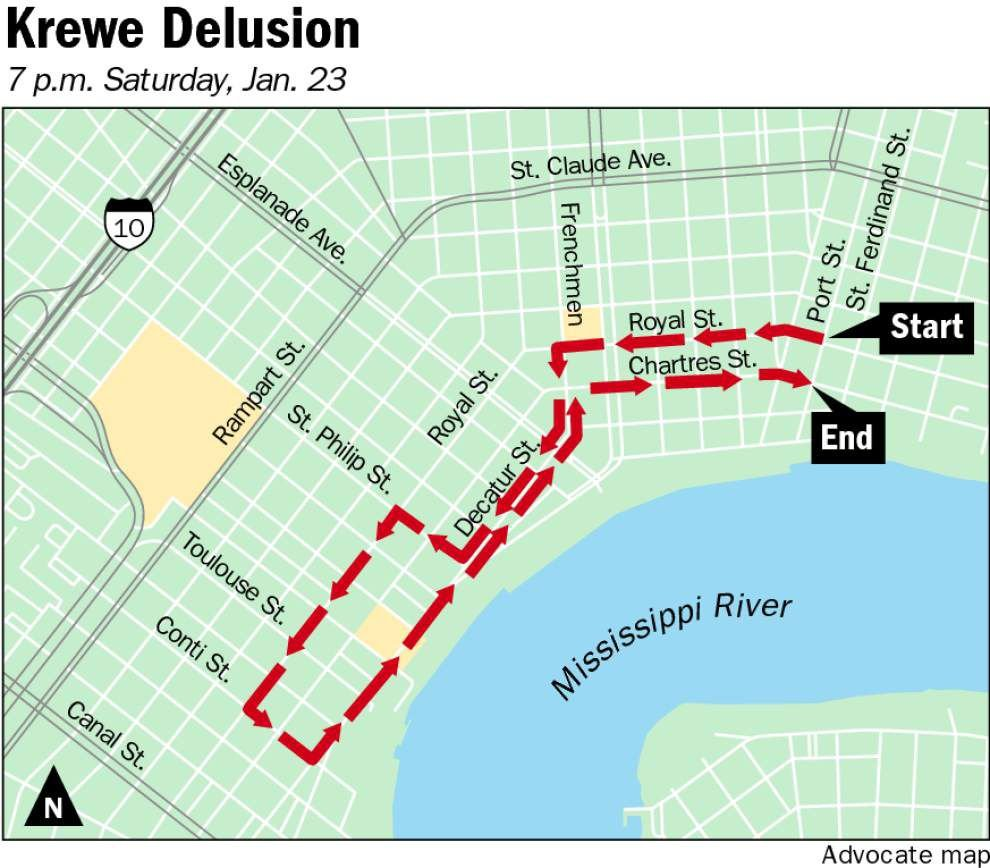 Krewe du Vieux rolls Saturday with XXX-rated march _lowres