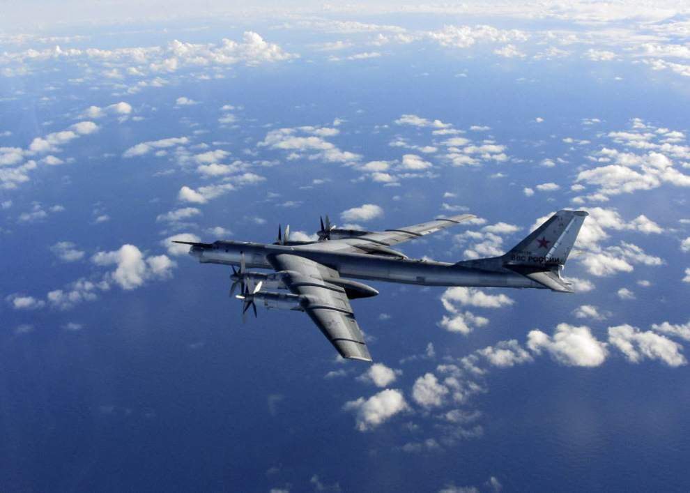 Russian bomber patrols to reach Gulf of Mexico _lowres