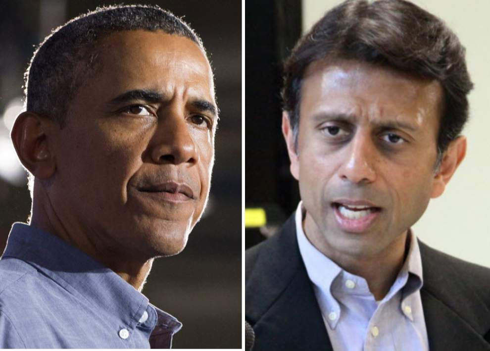 Gov. Bobby Jindal: 'Harvard Law School's most famous graduate has a problem obeying the law' _lowres