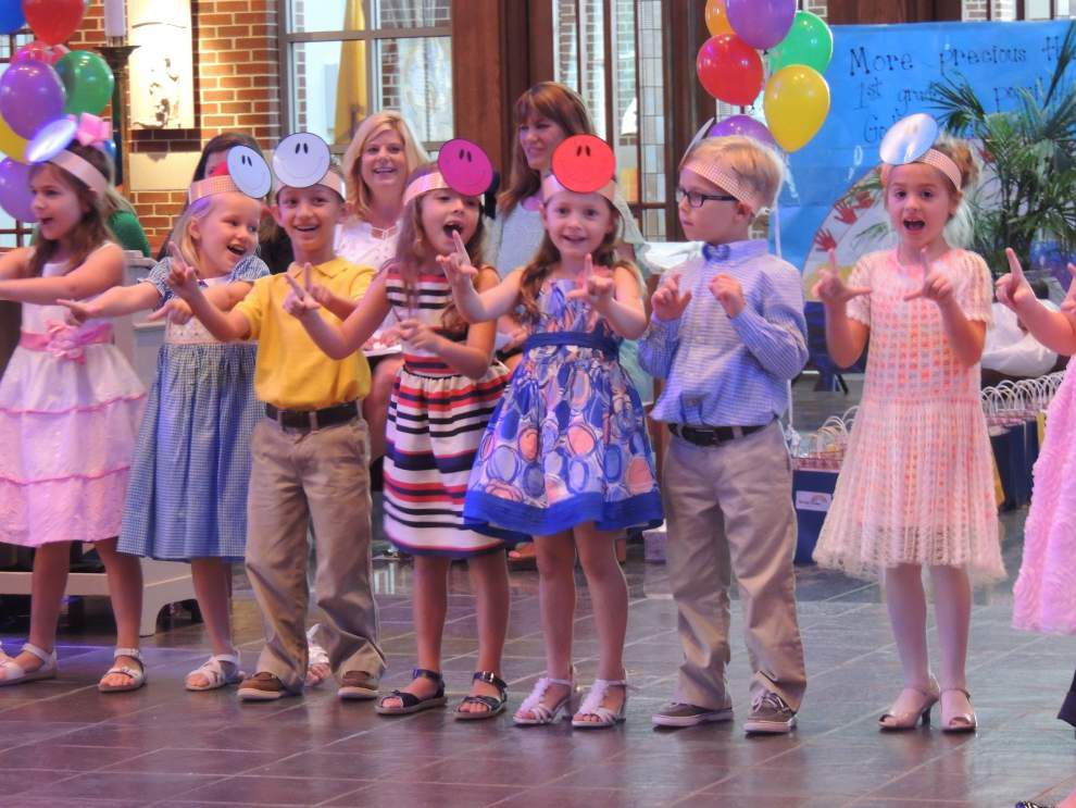 Kindergartners move on with colorful ceremony _lowres