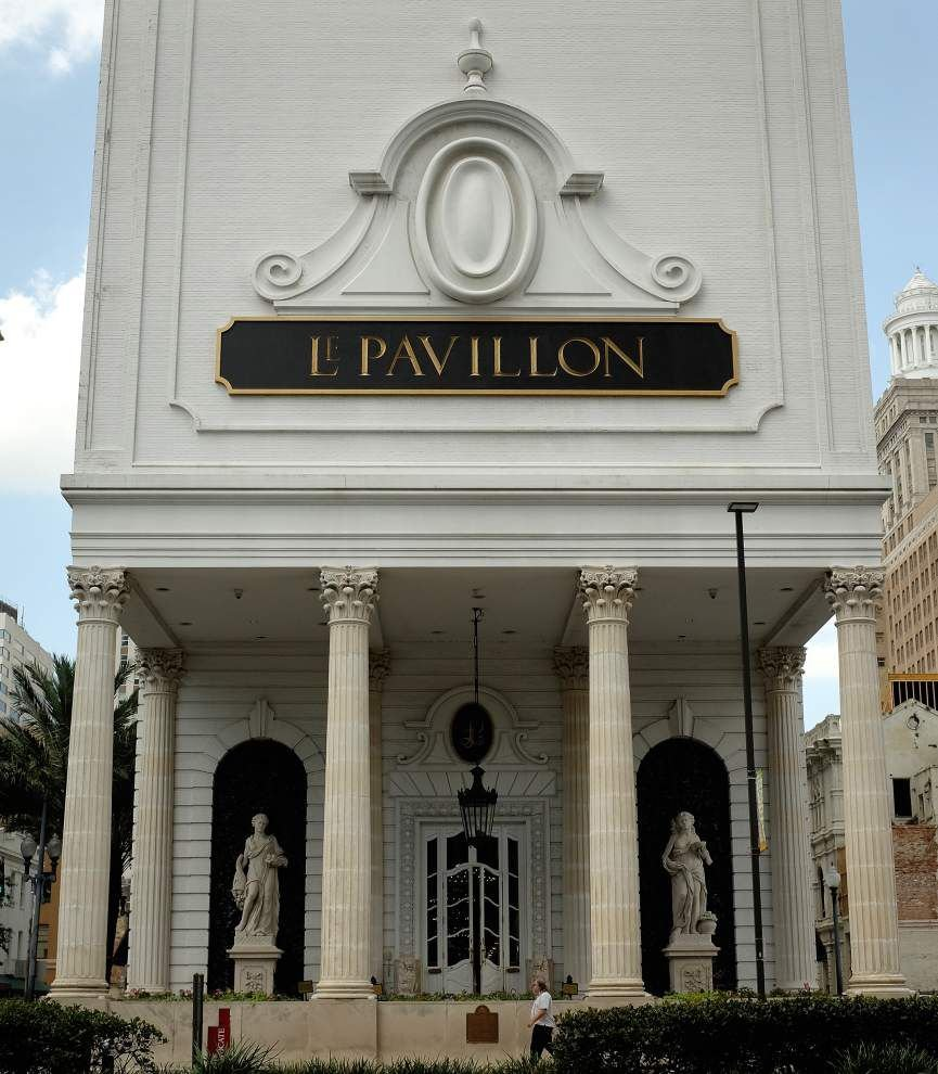 Le Pavillon Hotel on Poydras Street sold to a Dallas-based company _lowres