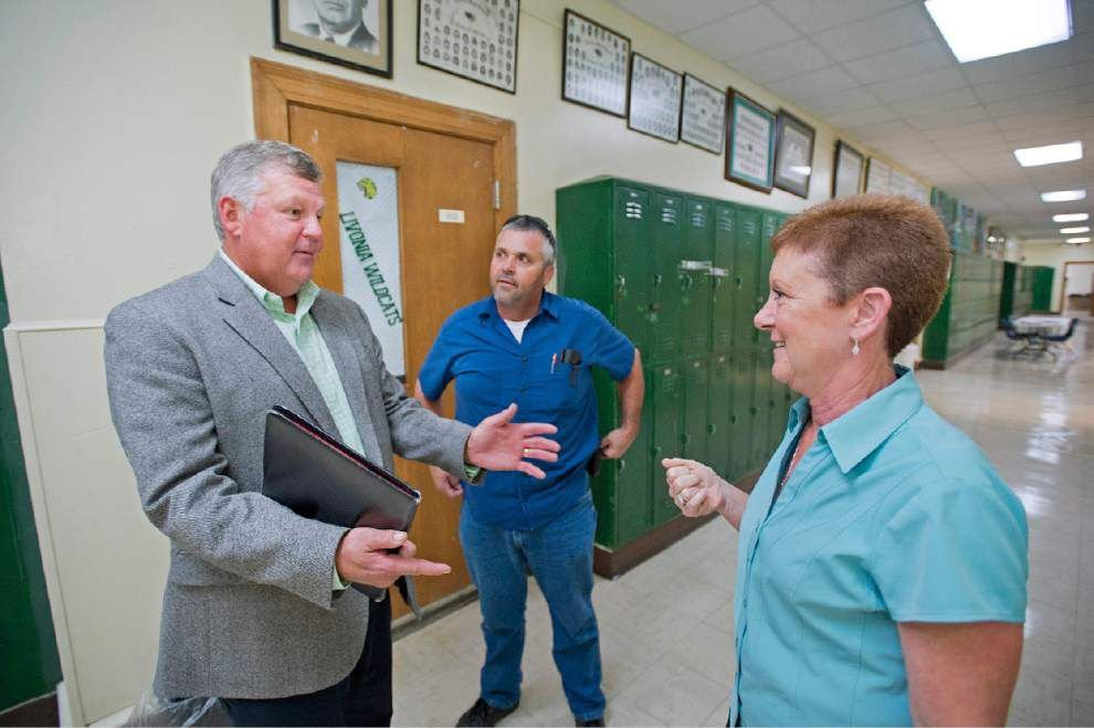 Wasting no time, new Pointe Coupee superintendent sets ambitious agenda for improving parish's schools _lowres