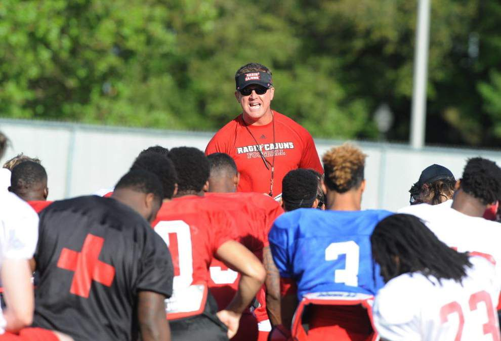 Notebook: Cajuns begin to game plan for opener against Wildcats _lowres
