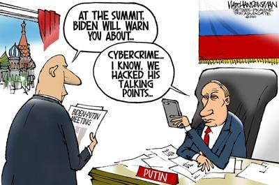 Walt Handelsman: Biden-Putin Summit