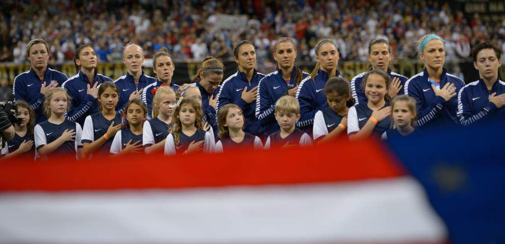 'There's only one Abby': China upsets U.S. 1-0 in Superdome, but loss didn't dampen celebration of soccer legend Abby Wambach _lowres