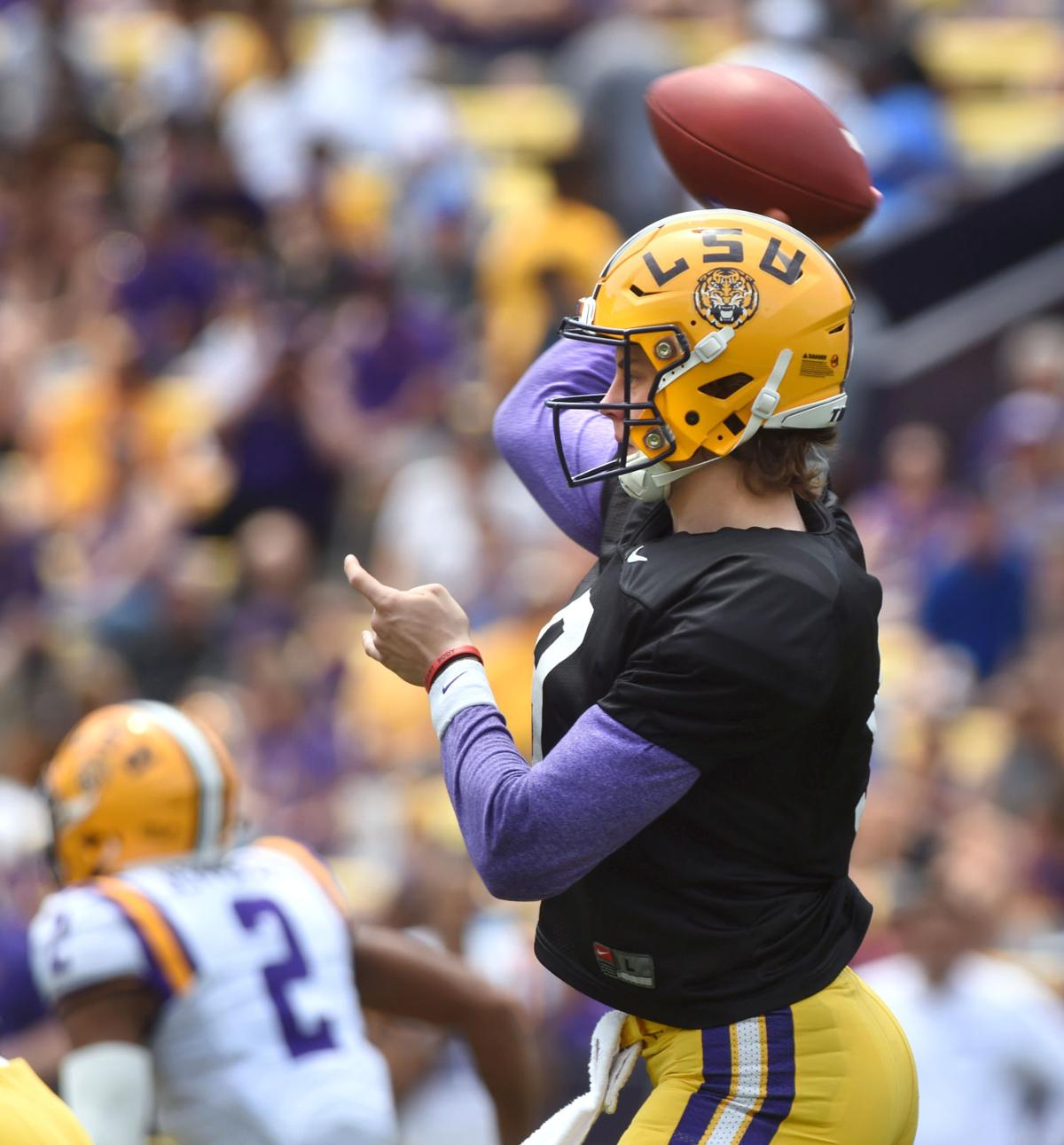 Joe Burrow on LSU's offense after spring game: 'We're way ...
