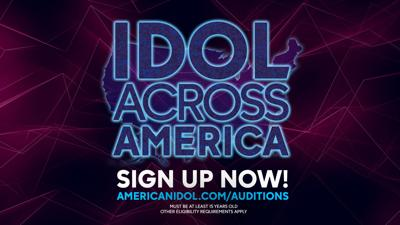 idol across america graphic