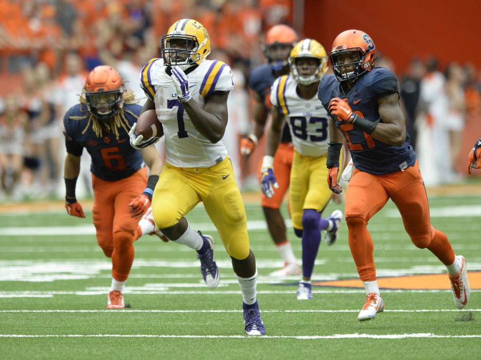 Rabalais: LSU running back Leonard Fournette keeps building his legend one dominant yard at a time _lowres