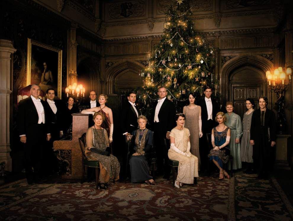 The Royal Tour: BR sisters visit 'Downton Abbey' site Highclere Castle _lowres