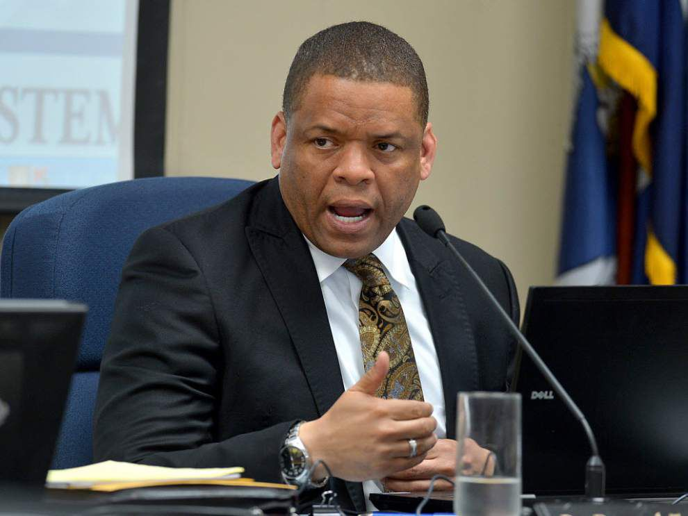 EBR School Board votes against Supt. Taylor contract extension _lowres