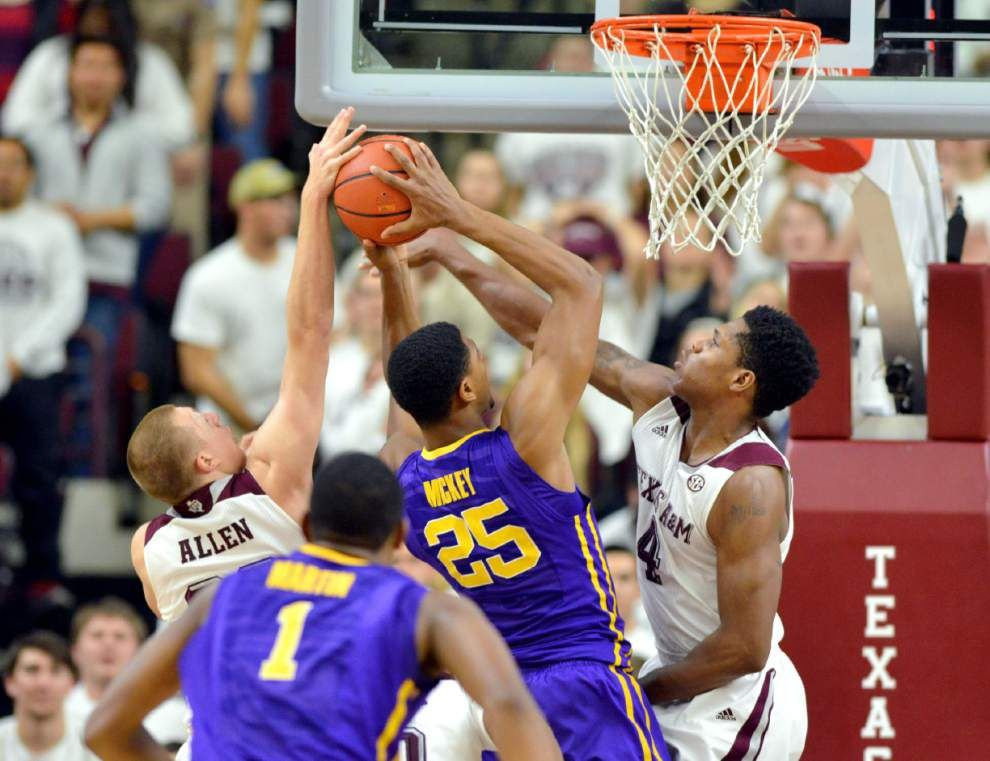 LSU's RPI drops after loss at Texas A&M, but its still projected as an NCAA tournament team _lowres