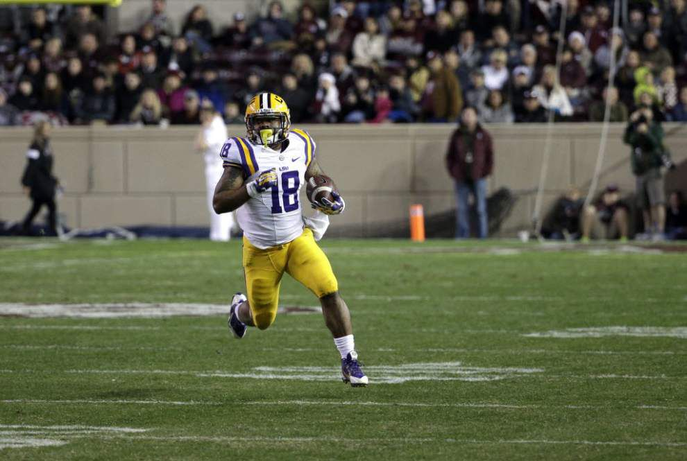 Video: LSU running back Terrence Magee says Tigers and Notre Dame have a bowl history _lowres