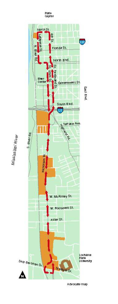 Streetcar line along Nicholson Drive corridor to get federal technical assistance _lowres