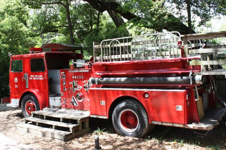 What happened to the fire truck in City Park's Storyland?_lowres