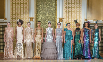 Renee Johnson collection New Orleans Fashion Week 2018
