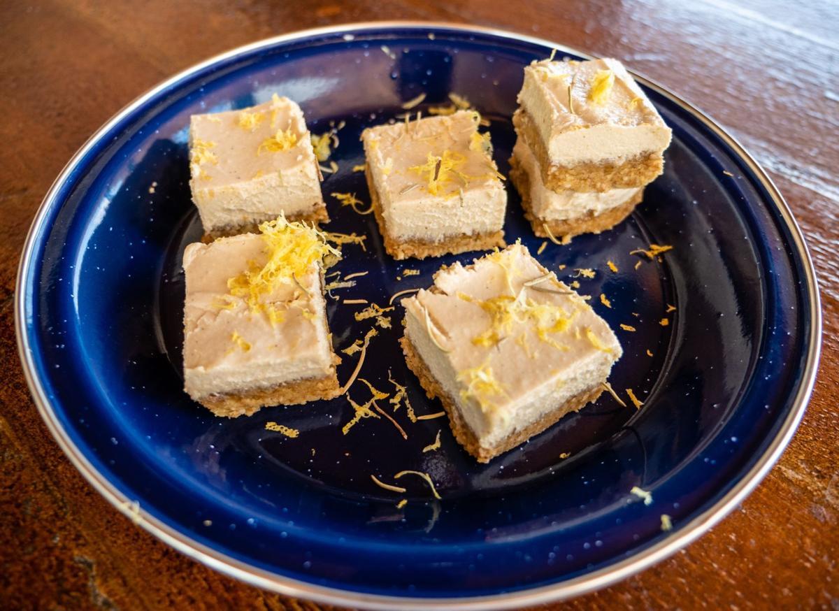 Lemon squares at The Dish