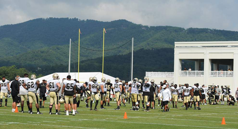 Saints Day 6 camp recap: Secondary showing big improvement; leader emerges in kicker battle _lowres