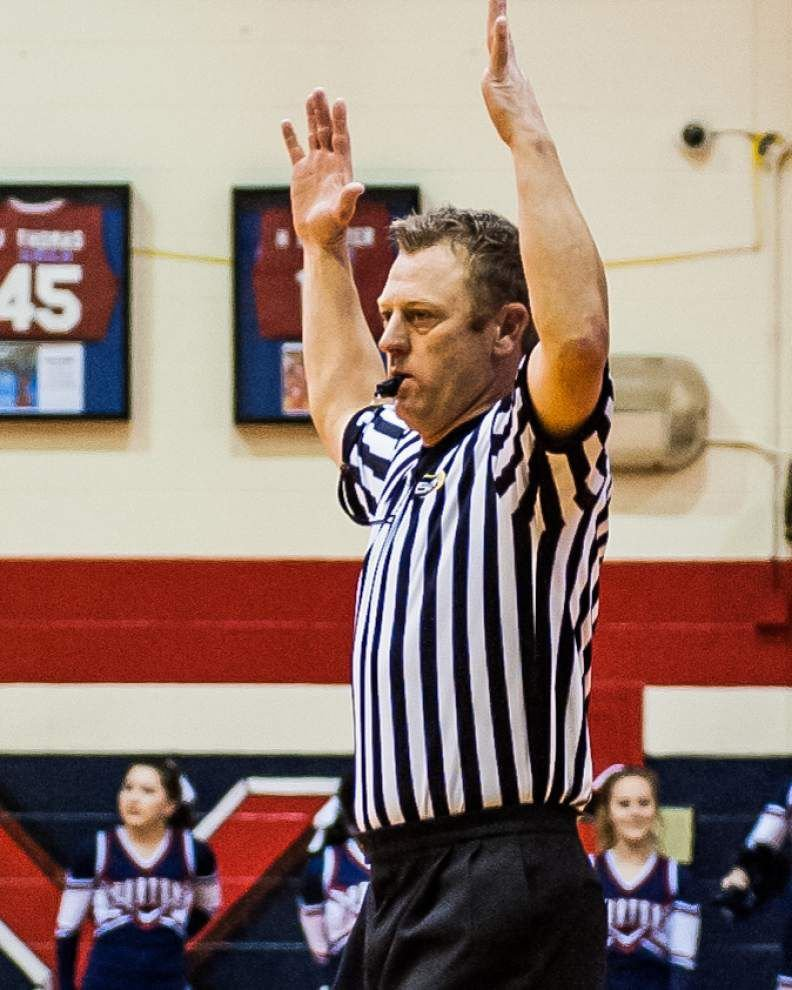 A night in stripes: High school basketball referees are in it for love of the game _lowres