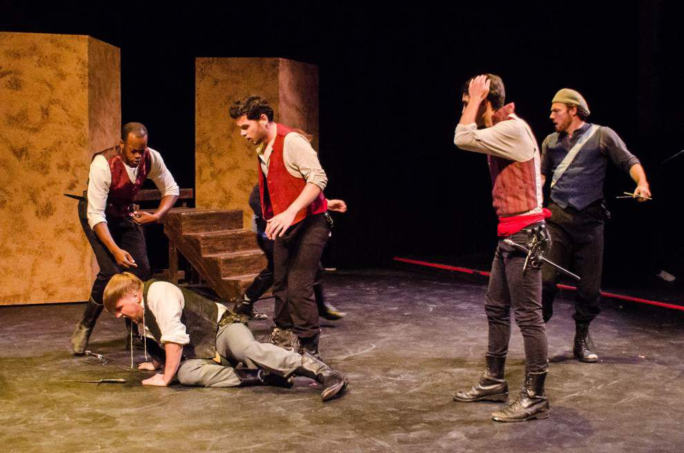 'Romeo and Juliet' takes the stage at LSU's Reilly Theatre _lowres
