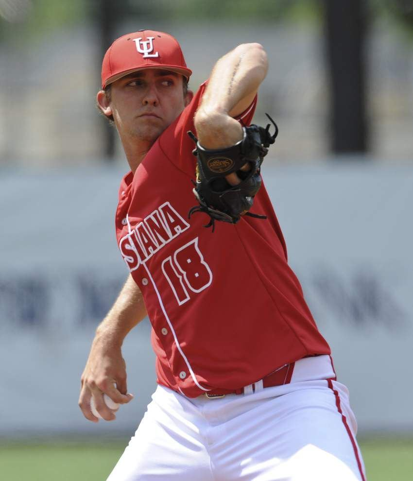 Shaking off a veteran catcher? Ragin' Cajuns' freshmen pitchers didn't just grow up quickly; they started acting like veterans _lowres