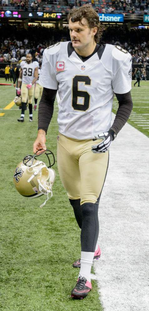 Punter Thomas Morstead may be ready to return after Saints release Brandon Fields _lowres