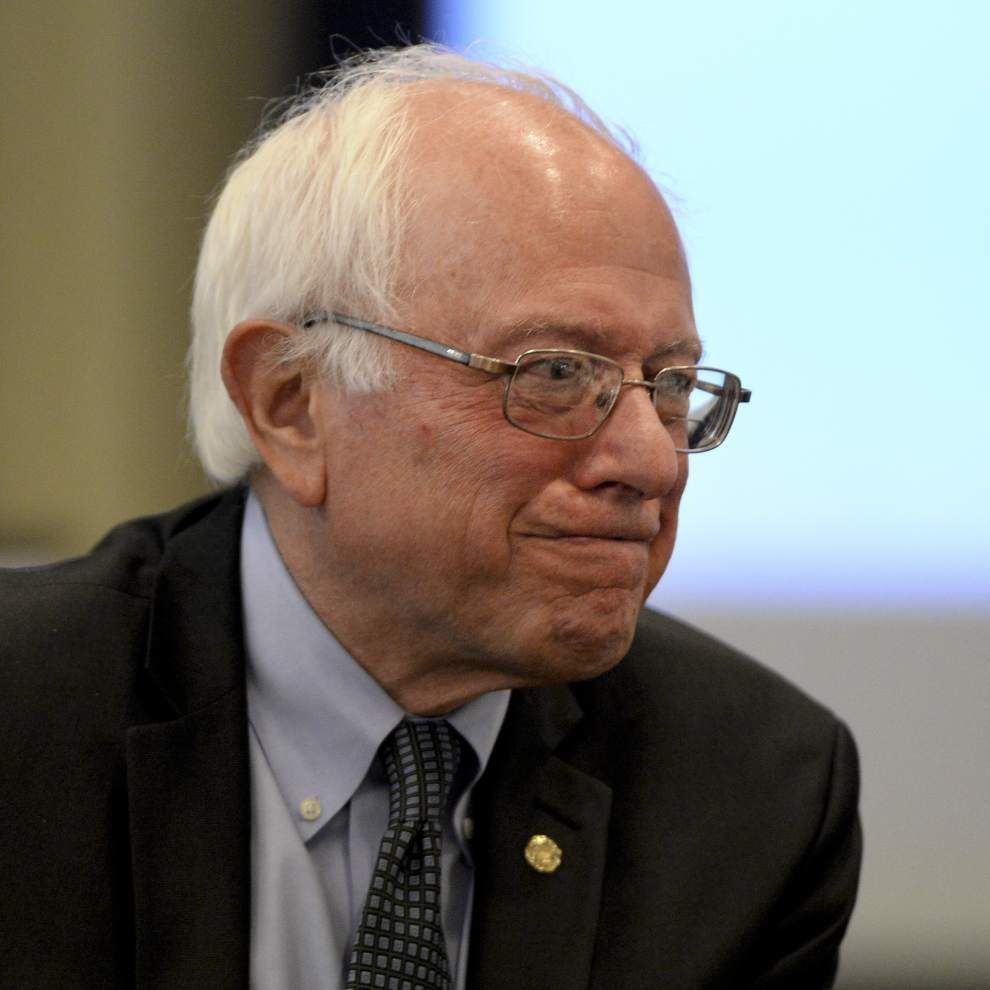 Presidential candidate U.S. Senator Bernie Sanders makes stop in Baton Rouge; Racism, 'rigged' economy among topics he spoke about _lowres