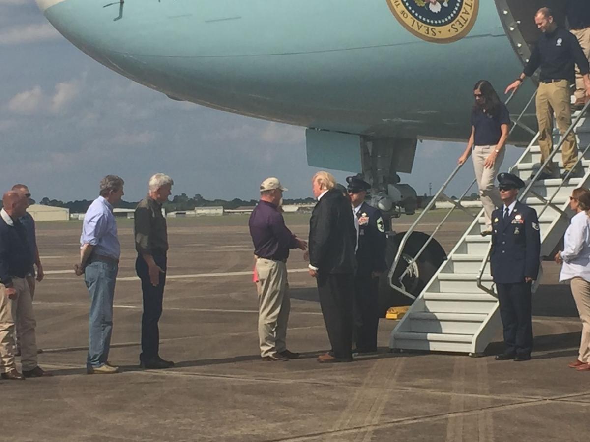 Trump in Lake Charles
