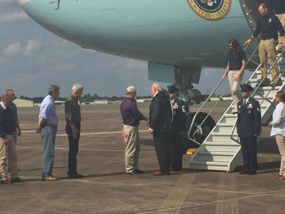 Trump in Lake Charles