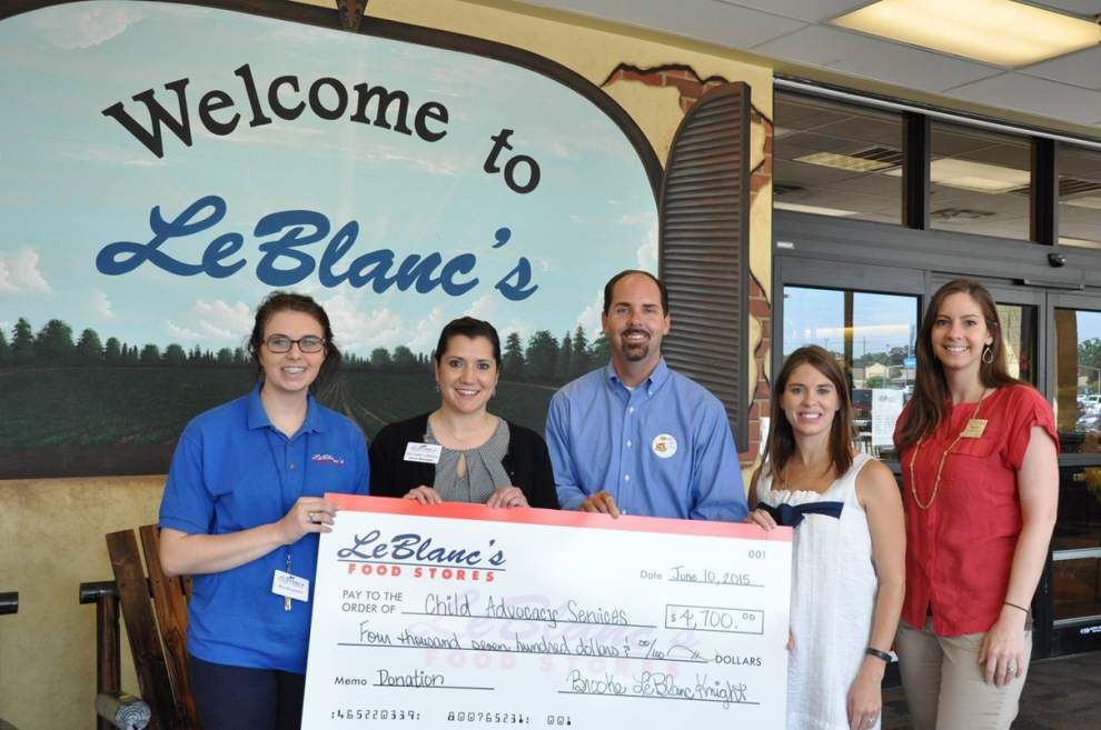 LeBlanc's supports child abuse prevention _lowres