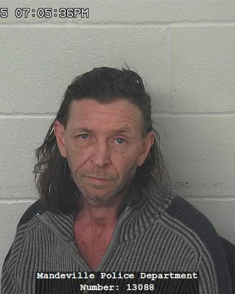 Man with seven DWIs arrested in Mandeville for hit-and-run, DWI _lowres