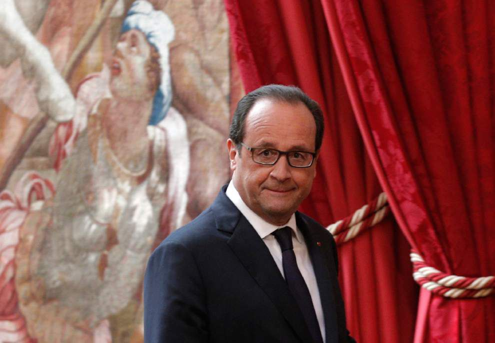 France strikes Islamic State group's depot in Iraq _lowres